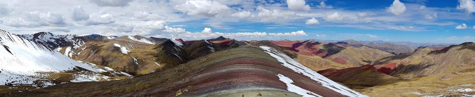 Palccoyo: der kleine Rainbow-Mountain