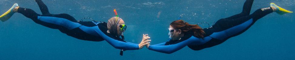 Coral Bay: die Eleganz der Korallenriffe