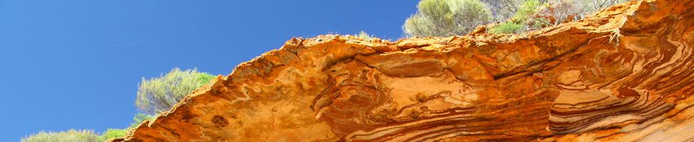 Kalbarri Nationalpark: spektakuläres Meer, spektakuläres Land