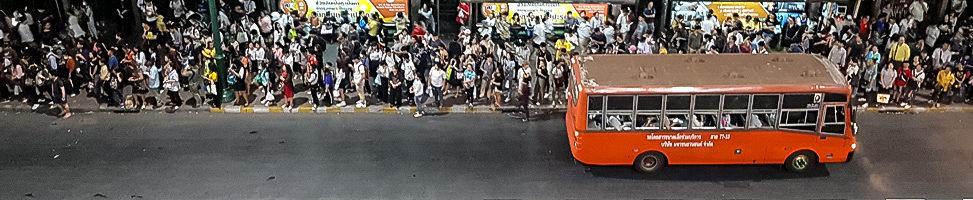 Bangkok: überall sind Menschen