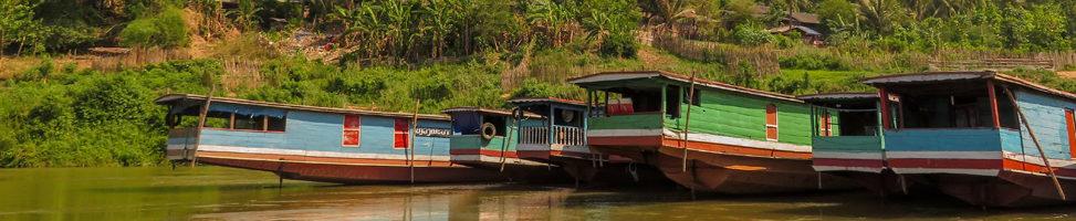 Slowboat auf dem Mekong