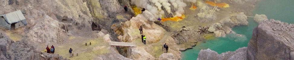 Kawah Ijen: Am giftigsten Ort der Welt